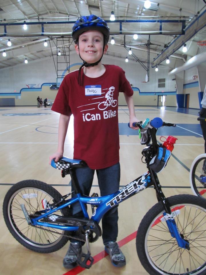 First iCan Bike Camp